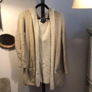 Zara knit with hood